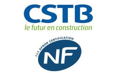 Fenêtres PVC certifiées NF et CSTB