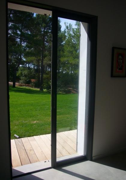 Baie-vitrée à galandage sur Mesure | Porte extérieure à Galandage | Coulissant à Galandage Arcachon